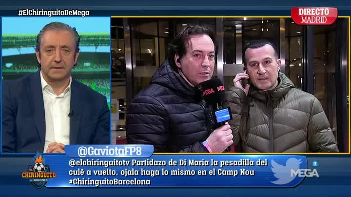 """El Chiringuito TV on Twitter: """"""""Maradona HA ESTADO muy CARIÑOSO conmigo"""". Lo DESVELA @PipiEstrada1 en #ElChiringuitoDeMega https://t.co/QaFfLAmwMR"""""""