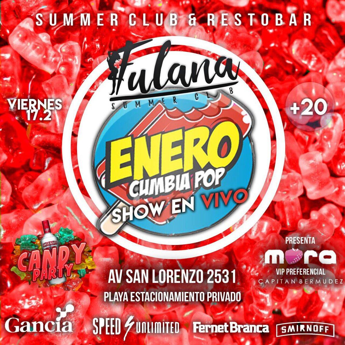 Vier 17.2 #Fulana presenta: Show en vivo #ENERO  #LOVE  Semana de los enamorados  #Candy #Party - Gomitas con Vodka<br>http://pic.twitter.com/j8CQWFooz7