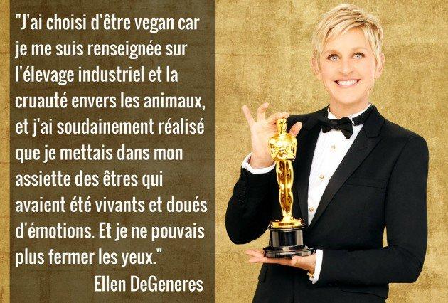 #FunFact @EllenDegeneres,célèbre animatrice télé américaine,a fait le choix d'être #vegan.Le véganisme est un choix éthique possible pr tous<br>http://pic.twitter.com/vhJwpuuEhS