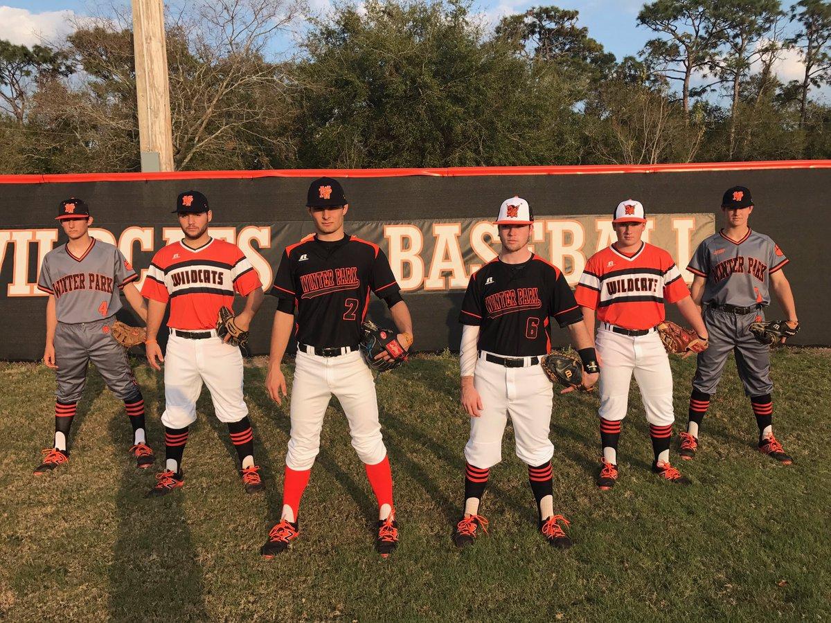 Winter Park Baseball On Twitter Wildcats 2017 Uniforms Unveiled