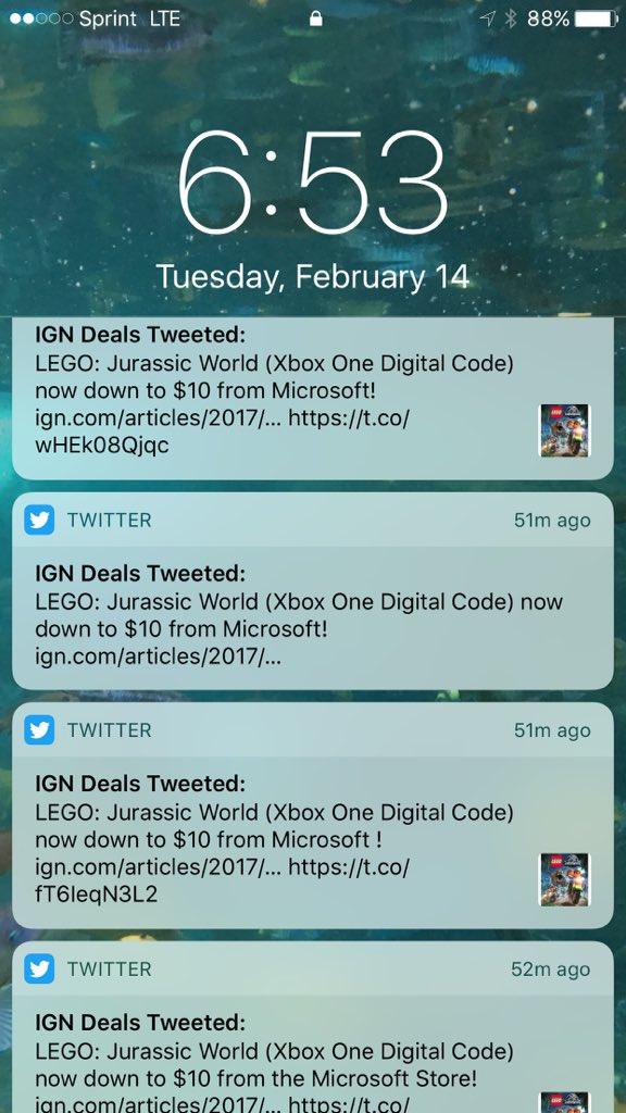"IGN Deals on Twitter: ""LEGO: Jurassic World (Xbox One Digital Code ..."