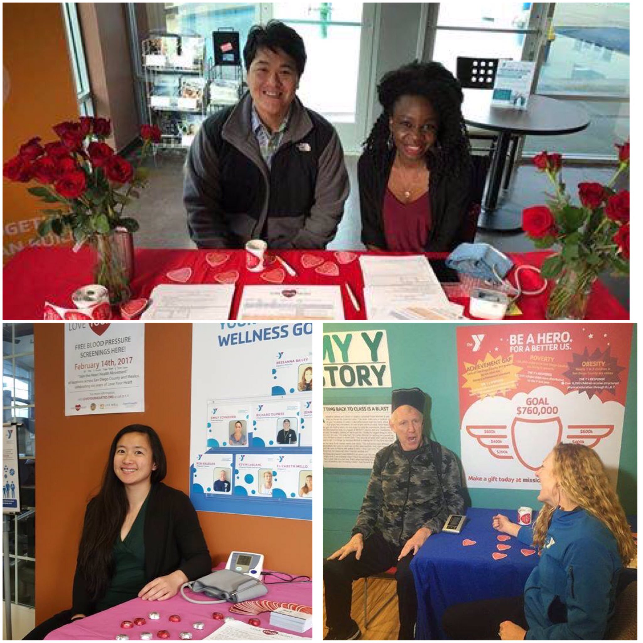 We ❤️'d spending #ValentinesDay w/ you for #LoveYourHeart day! Still time at some Y's to get your blood pressure checked! @livewell_sd https://t.co/Vj4yIenOCf