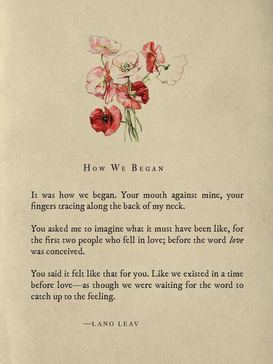 Lang Leav On Twitter Heres To Catching Feelings This