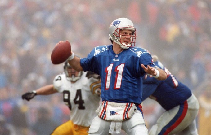 Happy Birthday to the reason I\m a Pats fan. Drew Bledsoe.