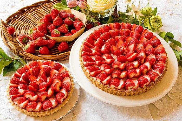 キル フェ ボン、イチゴとレモンムースの新作タルトをホワイトデー限定で発売 - ローズマリーの清涼感…