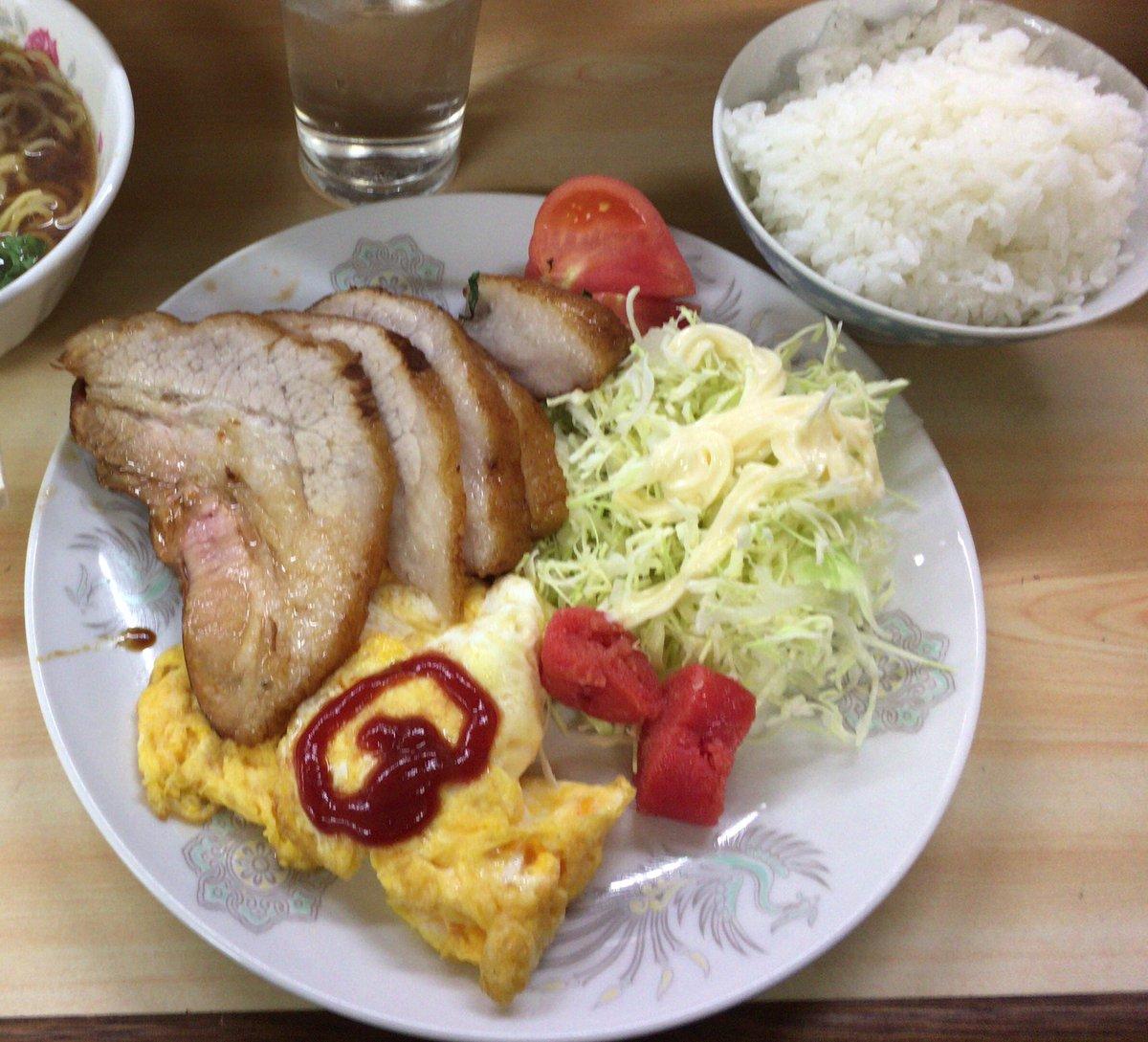 門前仲町の老夫婦がやっている定食屋、焼豚定食など大変に美味しく、付け合わせにも趣があり最初はほっこり…