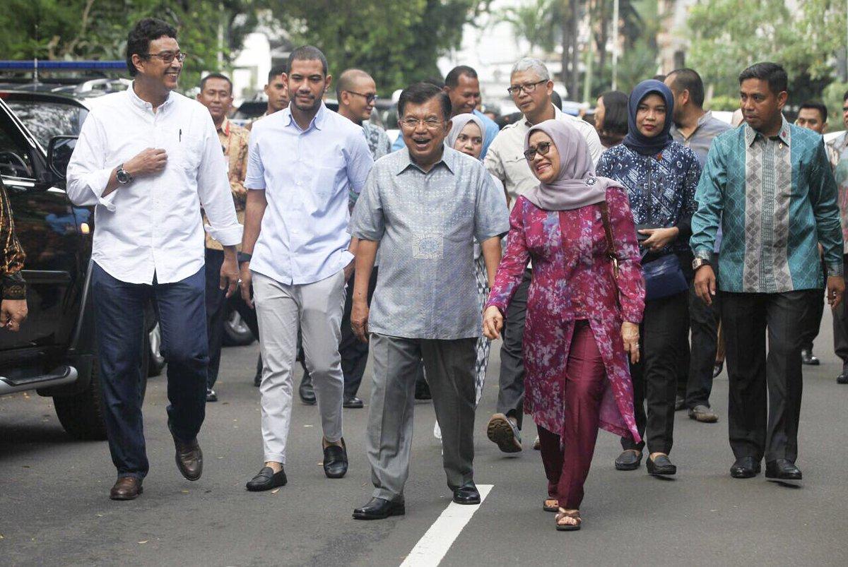 Soal Cawapres, Jokowi Akan Bisiki Langsung JK