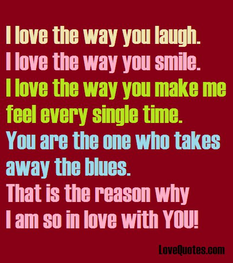 Lovequotescom On Twitter I Love The Way You Laugh I Love The