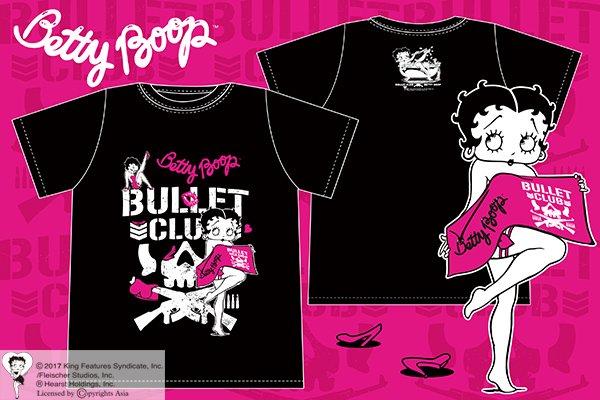 SEXY GIRL COMING!!『BULLET CLUB×BETTY BOOP(TM) コラボT…