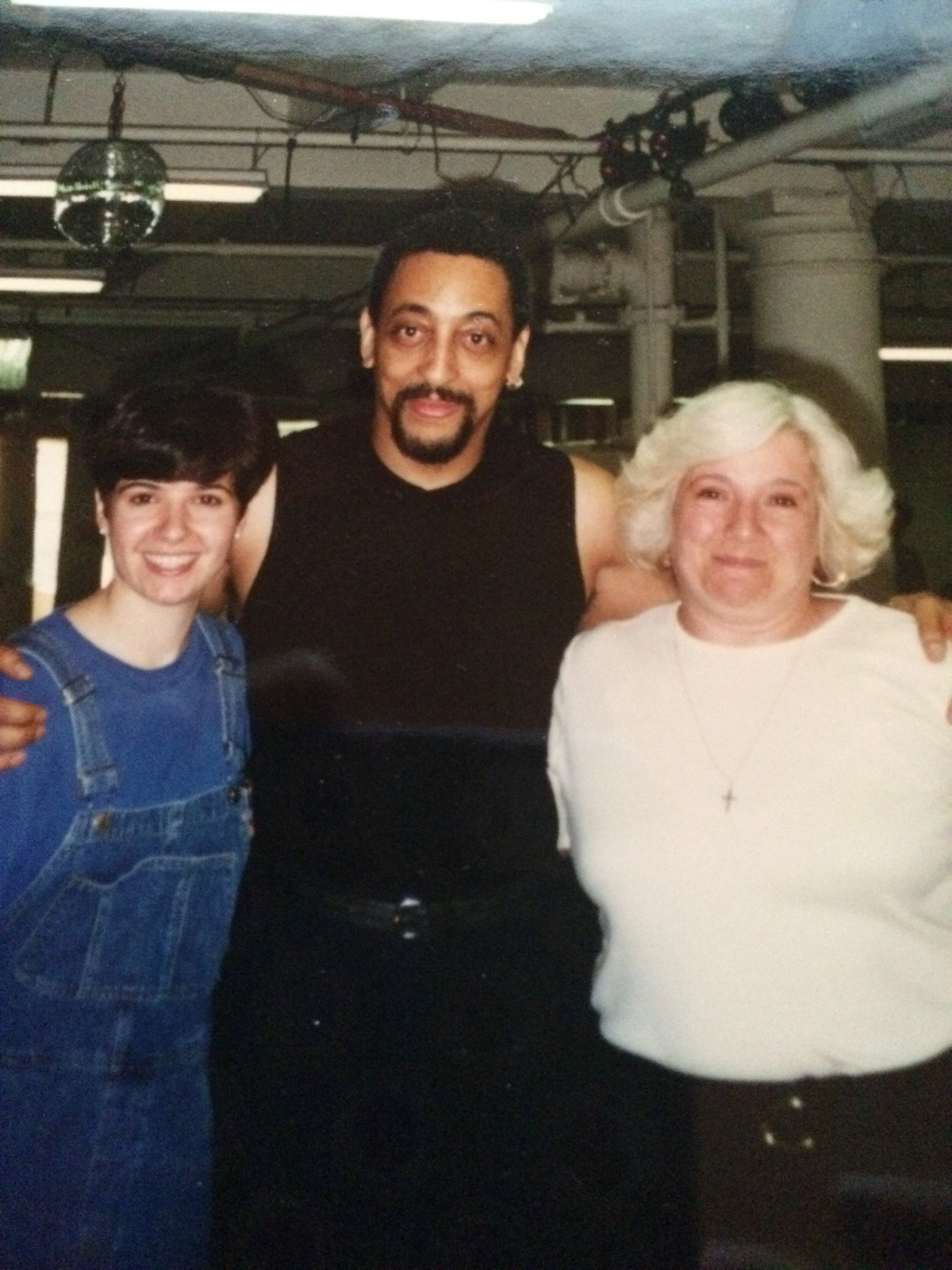 Throwback - my mother & I circa 1998 Happy Birthday Gregory Hines!