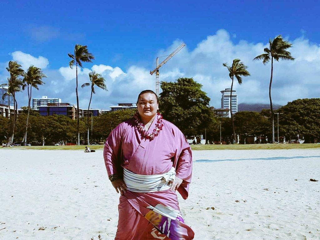 ハワイ最後日楽しんでます、青木功さんとゆっくり話しました。 ハワイ皆さんありがとうございました  H…