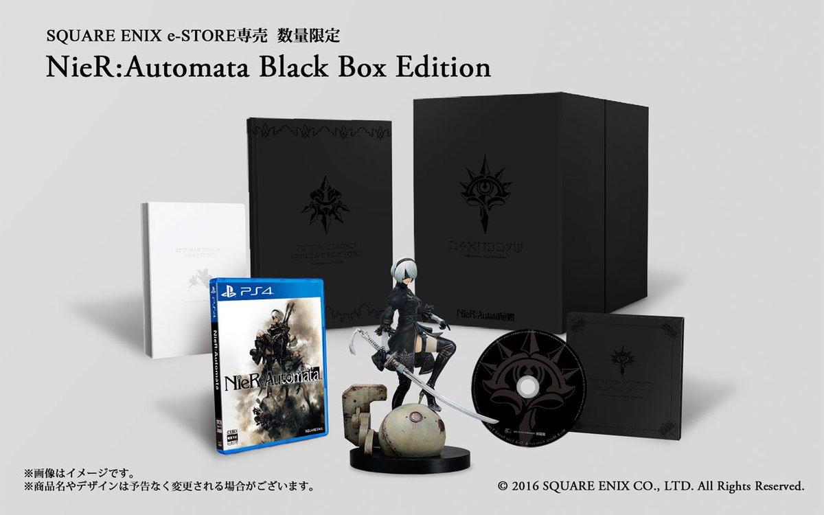 『NieR:Automata Black Box Edition』若干数余裕がでてきましたので、2月…