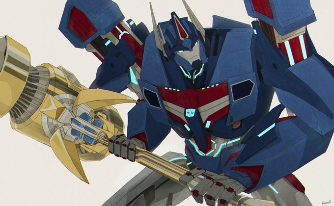 Ultra Magnus (Transformers Prime)  Happy Birthday Michael Ironside!!!