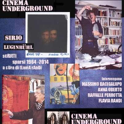 "#BUGevents #CinemaUnderground 60-70: proiezione di cortometraggi per la presentazione di ""Scritti sparsi"" di Sirio Luginbühl Ore 17.30 #BUGe"