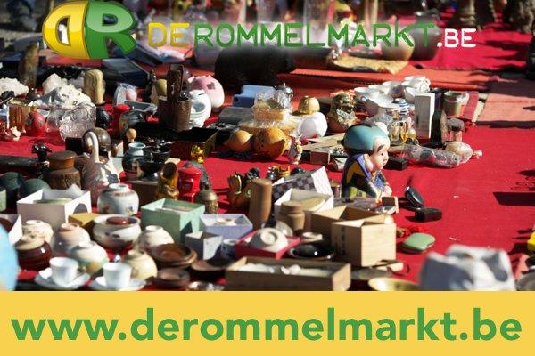 rommelmarkt dit weekend