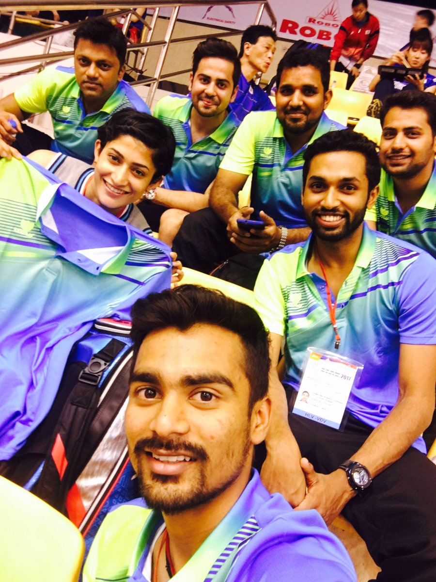 "PRANNOY HS on Twitter ""All set to support team India New"