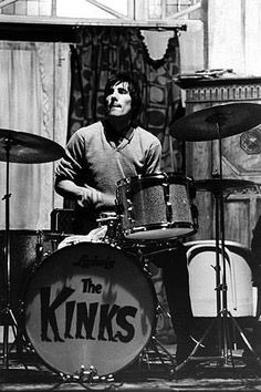 Happy Birthday Mick Avory , drummer with The Kinks, born on this day in 1944.