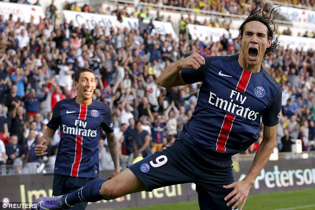 What a night to celebrate your birthday on... Happy 29th Angel Di María Happy 30th Edi Cavani