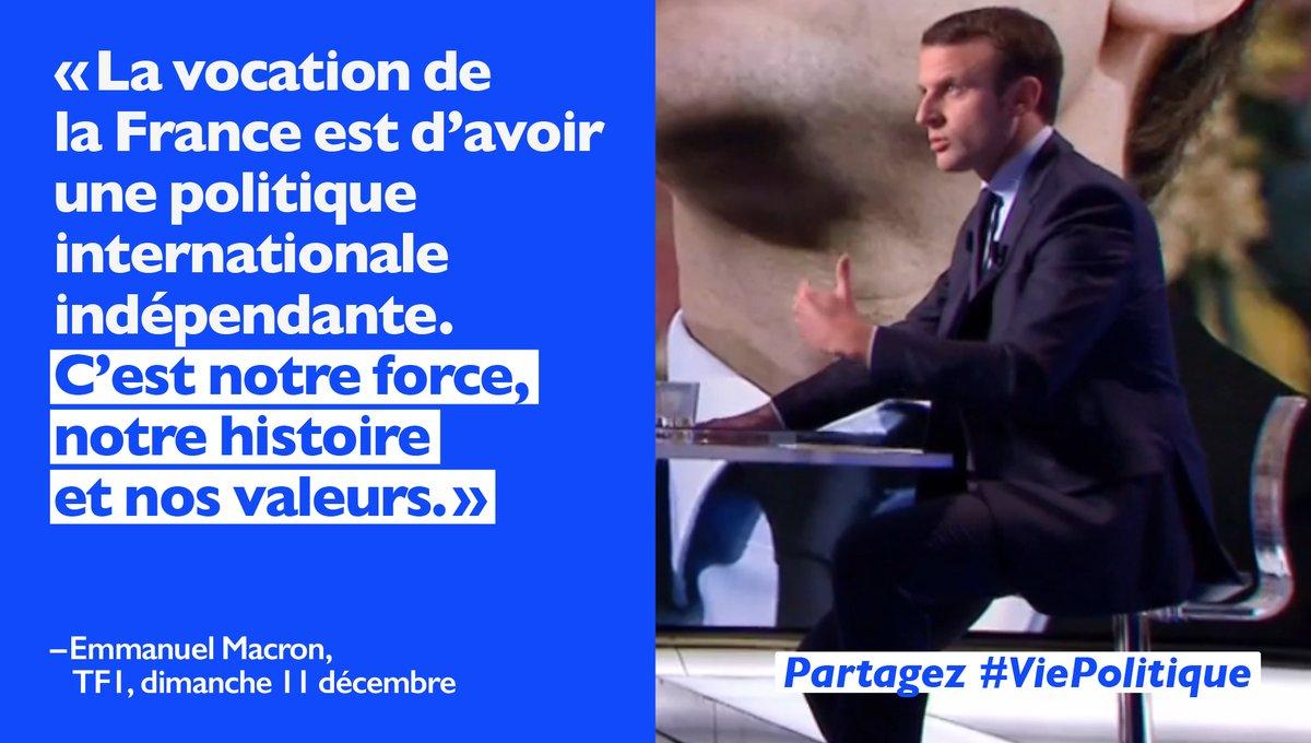 #Politique internationale avec la #France #EnMarche comme patrie des droits de l&#39;homme! Alors oui je voterai #Macron  https:// goo.gl/sdLxP3  &nbsp;  <br>http://pic.twitter.com/Fv44bDd56l