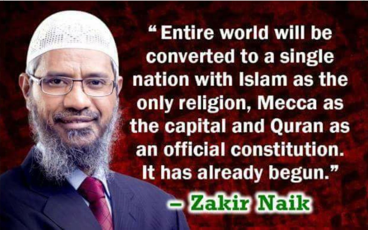 """Image result for """"Islam will rule the world"""""""