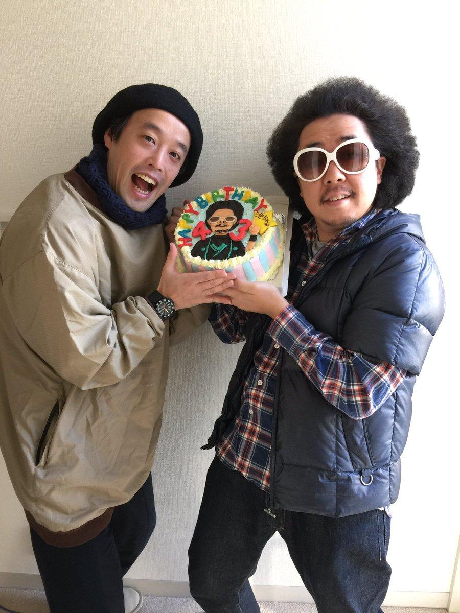 レキシの池ちゃん誕生日おめでとう!!うちの親父と同じ誕生日!祝43歳! #レキシ