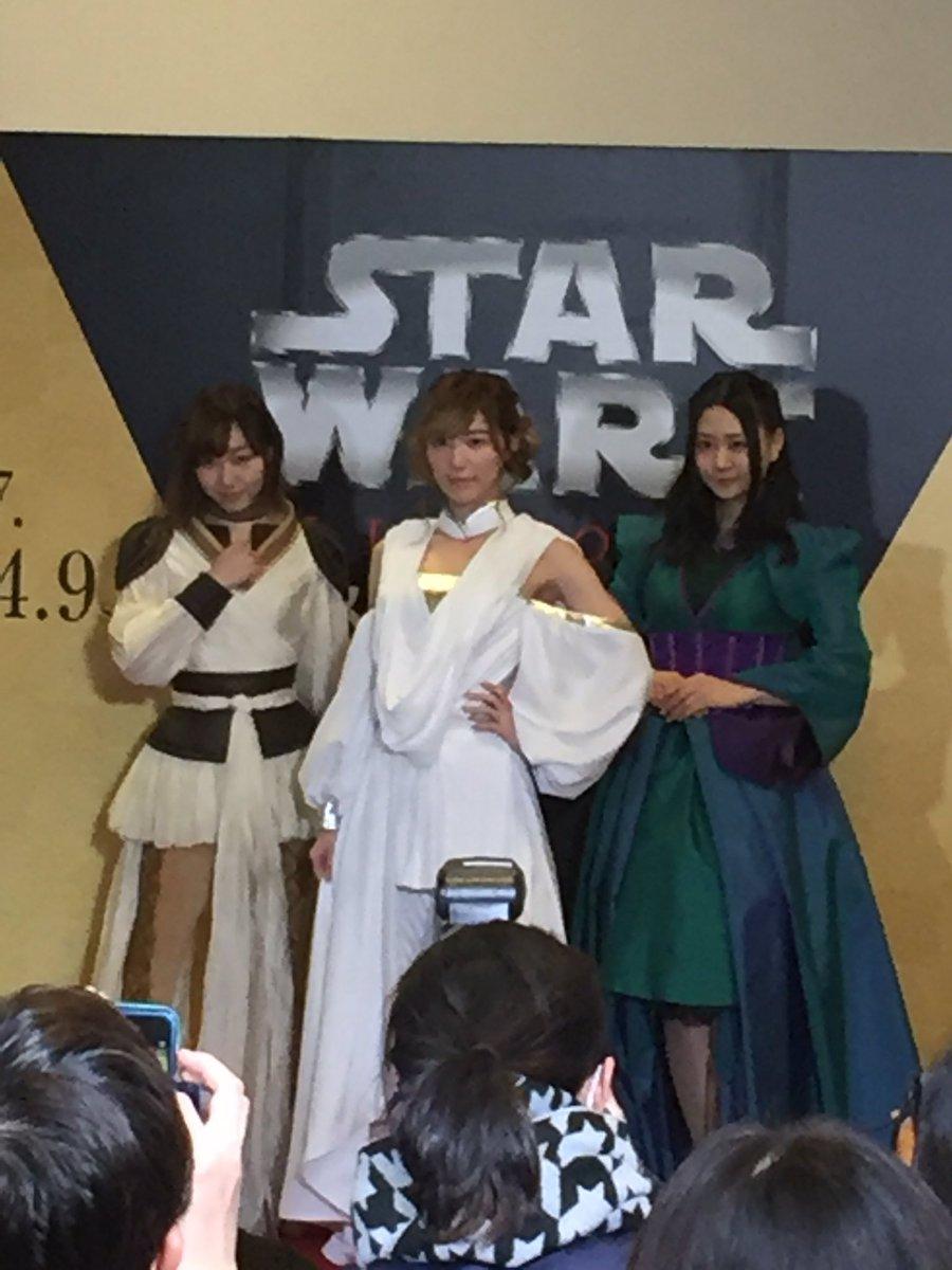 「スター・ウォーズ展 未来へつづく、創造のビジョン」名古屋会場公式アンバサダー、SKE48の松井珠理…