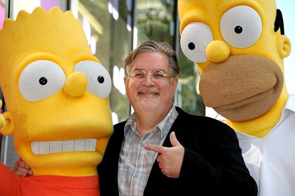 Happy birthday Matt Groening and thank you for creating some of the best tv shows ever.