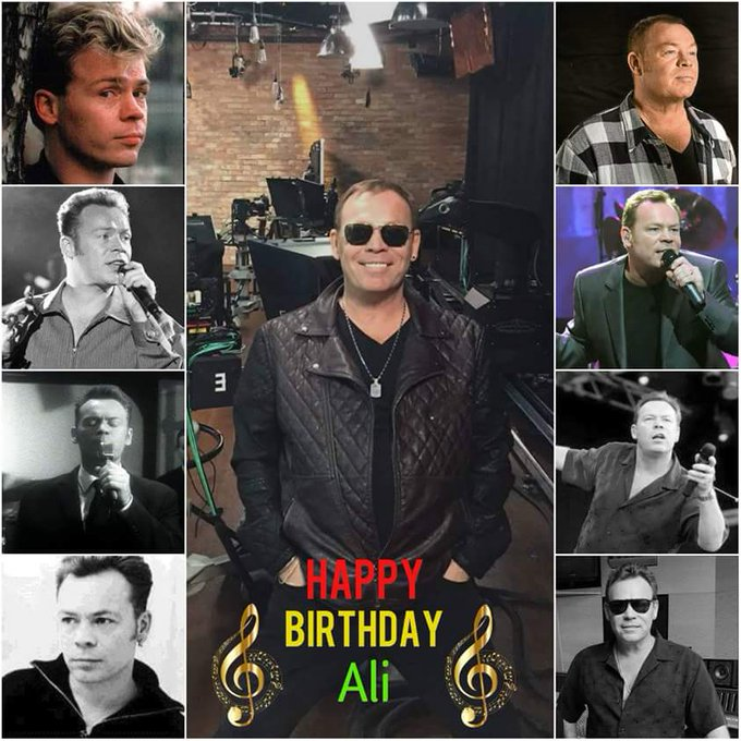 Happy birthday to  Ali Campbell .. ...