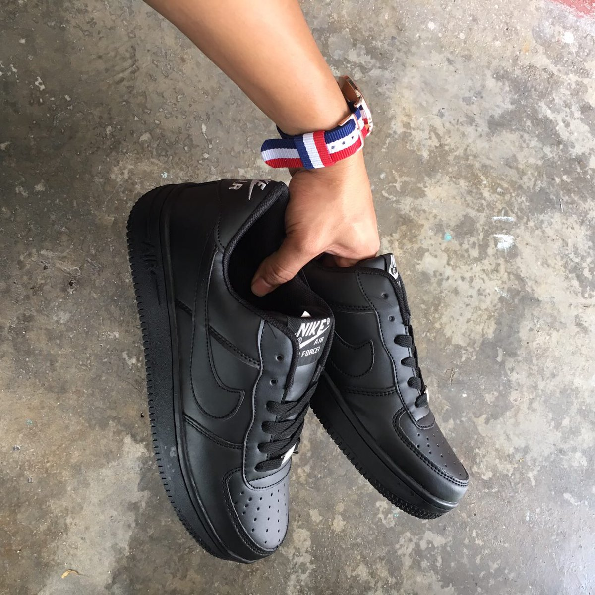 e277694d59c324 Nike Air Force Black Size  - 36-45 Euro Harga Offer  - RM 80 Only SM (inc  postage) RM 85 Only SS (inc postage) WhatsApp  - 0111-621  8182pic.twitter.com  ...
