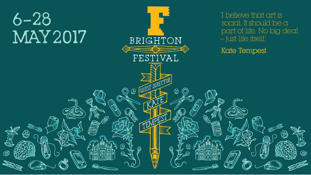 We have lift off! #BrightonFestival 2017 programme is now live! See the full programme now: https://t.co/FLIUKqOq2X https://t.co/wQEsvXHxeB