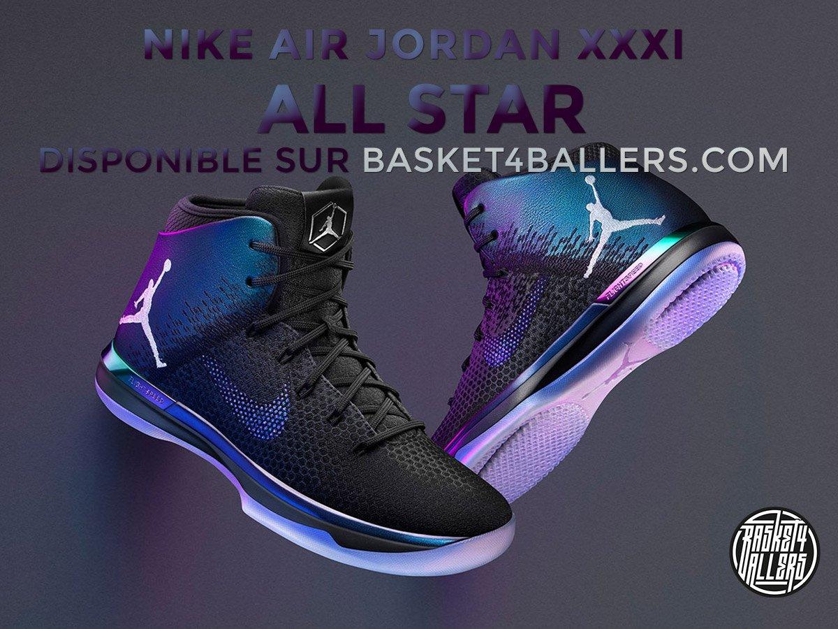 [RELEASE] La #AirJordan XXXI &quot;All Star&quot; arrive demain à 9h sur Basket4Ballers --&gt;  https:// goo.gl/oAv5fy  &nbsp;   ! #Sneakers <br>http://pic.twitter.com/QBpUbZVZs3