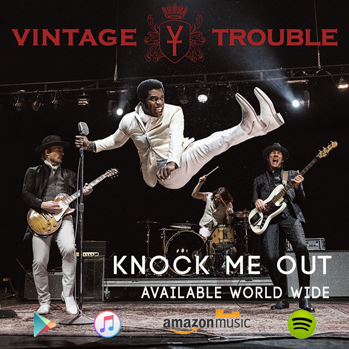 "New single, ""Knock Me Out,"" available worldwide now!!! https://t.co/7uRKDMfUb1"