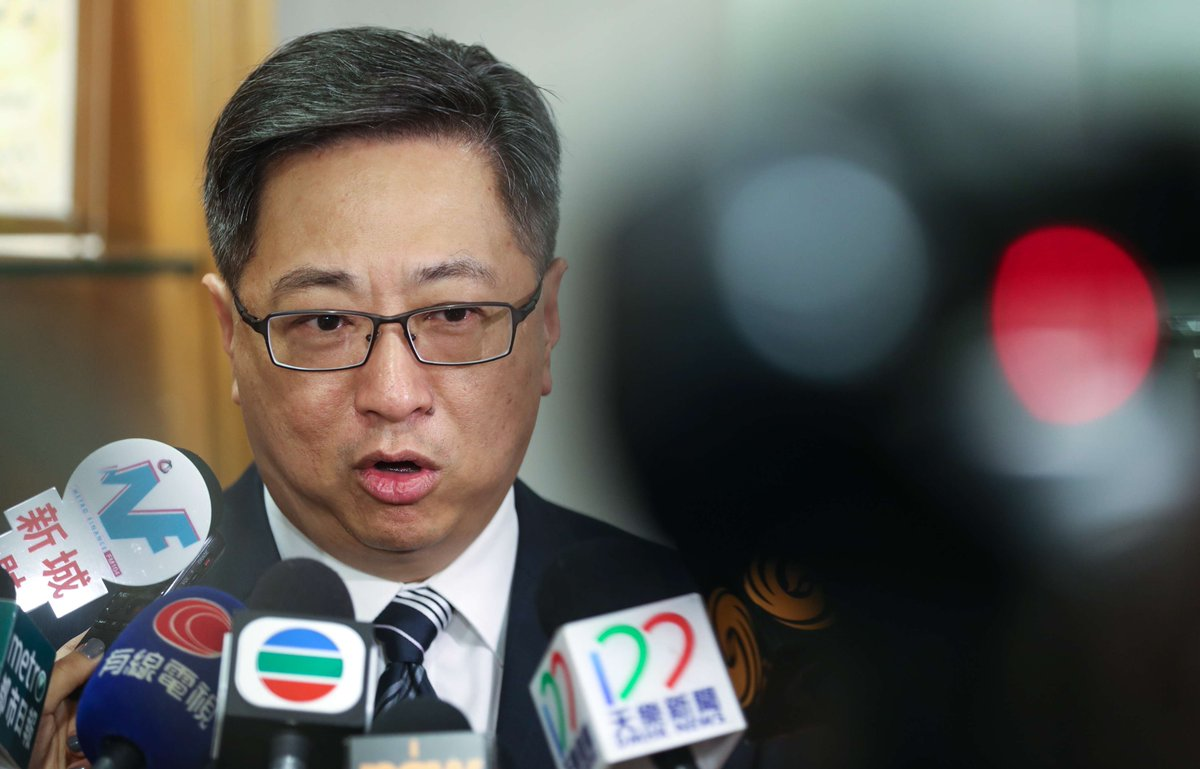 Hong Kong police chief 'saddened' by conviction of seven officers in Occupy assault