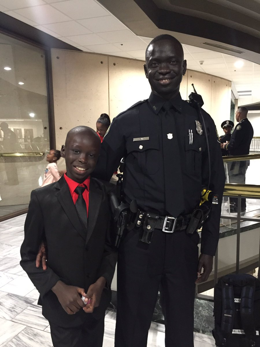Atlanta police officer Sudan
