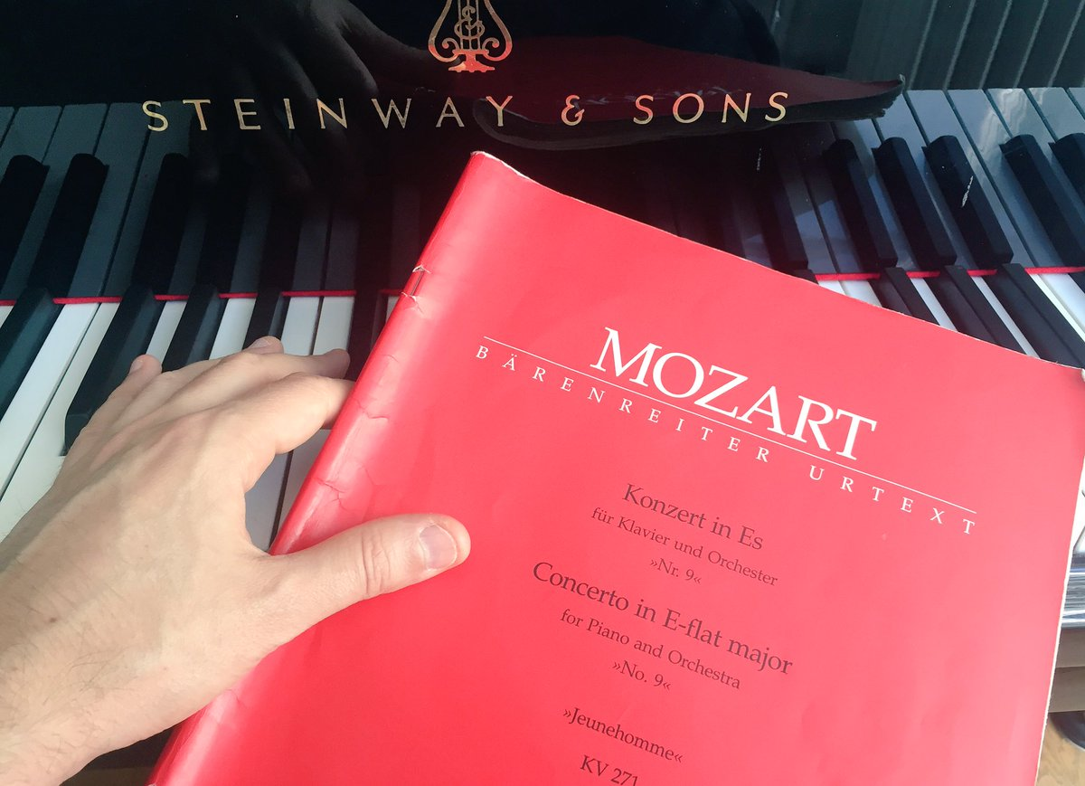 Getting ready to play &amp; conduct #Mozart #Piano #Concerto #9 at @antigelfestival in #Geneva this Saturday with @genevacamerata!<br>http://pic.twitter.com/bvCWCJZBOS