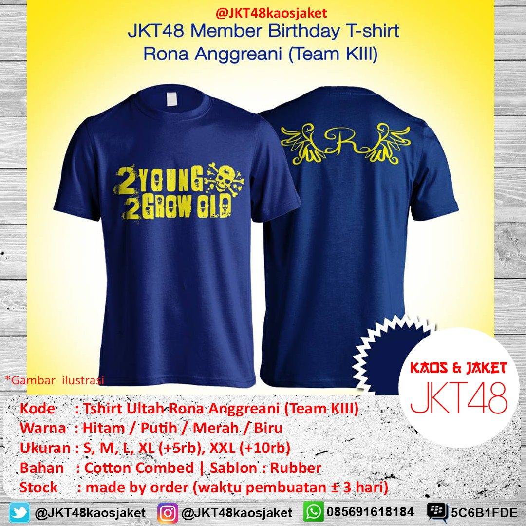 Desain t shirt jkt48 - 0 Replies 0 Retweets 1 Like