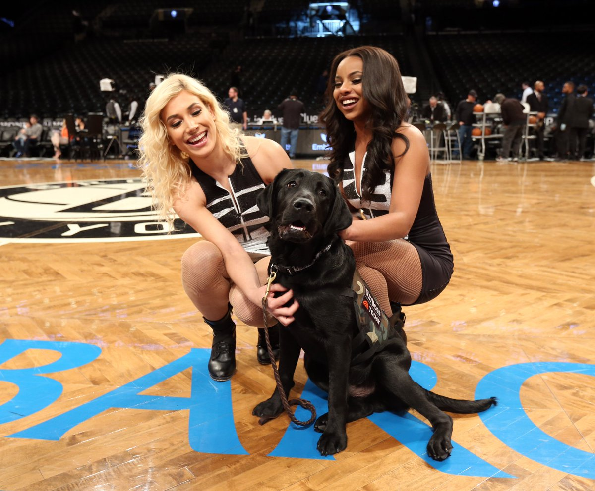 Watch the @TODAYPuppy\'s trip to Monday\'s #Nets game on the @TODAYshow around 8:30 this morning! 🏀🐶