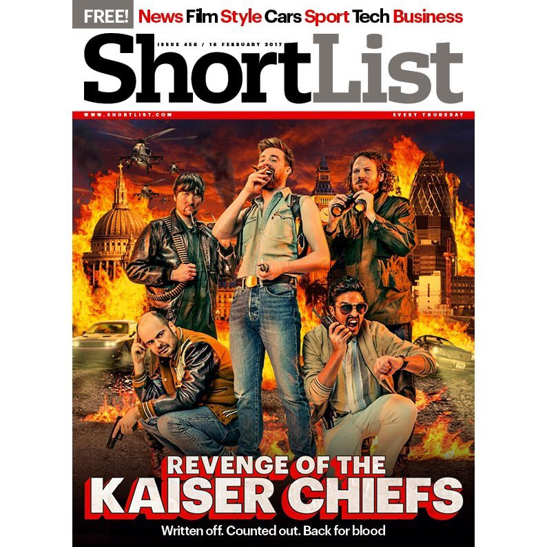 RT @TeamRickyWilson: .@KaiserChiefs are on this week's @ShortList cover - and it's 🔥 https://t.co/HbCfbG4EX0