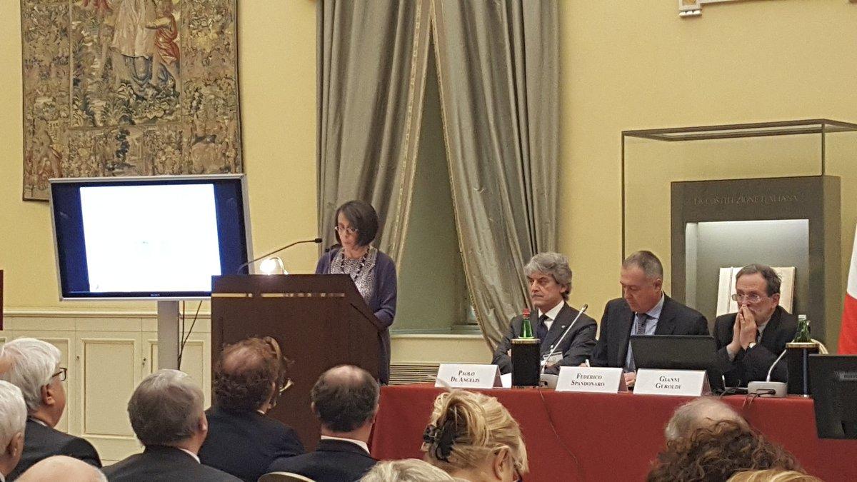 Al via la presentazione del #IVRapportoITP con l'apertura del lavori di @MarinaSereni