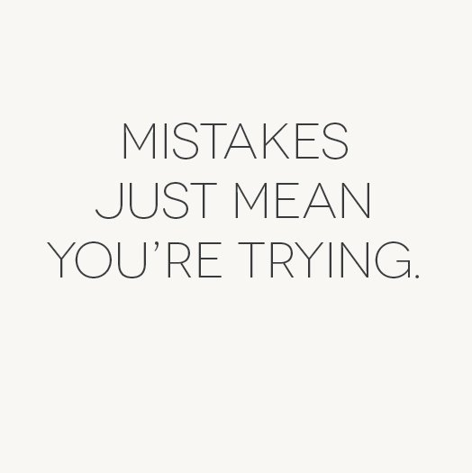Never see mistakes as failure. It&#39;s the first step towards success. It shows you&#39;re trying #wednesdaywisdom #wednesdaymotivation #success<br>http://pic.twitter.com/A2RxNYMLaN