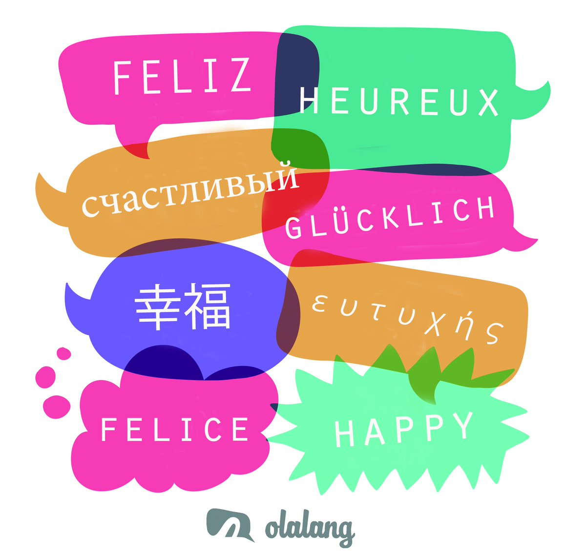 In #2017, add this word to your vocabulary! Join  http://www. Olalang.com  &nbsp;    #happy #Feliz #Felice #glücklich #Heureux<br>http://pic.twitter.com/r4aB1e6xNI