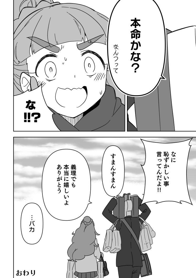 【デレマス】神谷奈緒とPとバレンタインチョコ