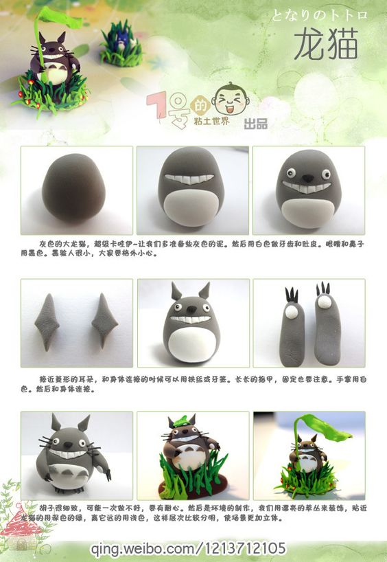 A faire soi-même : Totoro en pâte fimo  Sinon il y a le shop sur le blog :  http://www. studioghibli.fr/boutique/  &nbsp;   #Ghibli #Totoro <br>http://pic.twitter.com/A7WEVwg674
