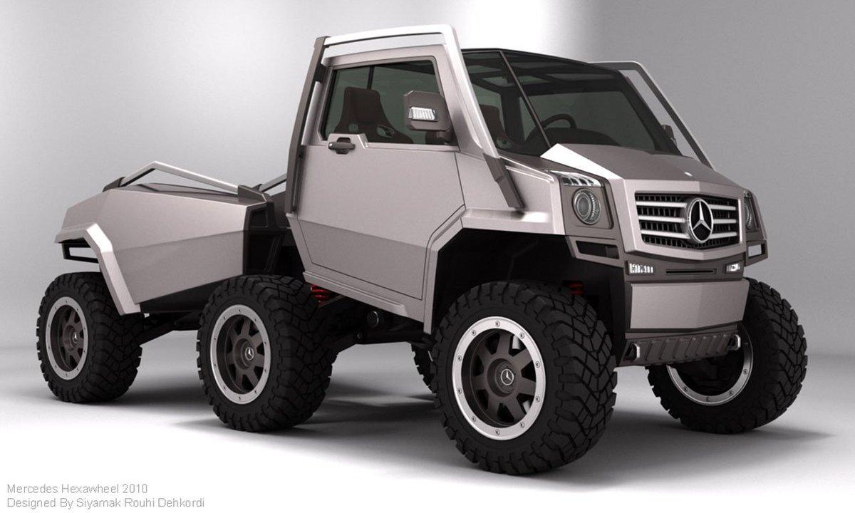 けものフレンズのジャパリバスのような車だと、メルセデスベンツのコンセプトカーで面白いのがある。後部は…