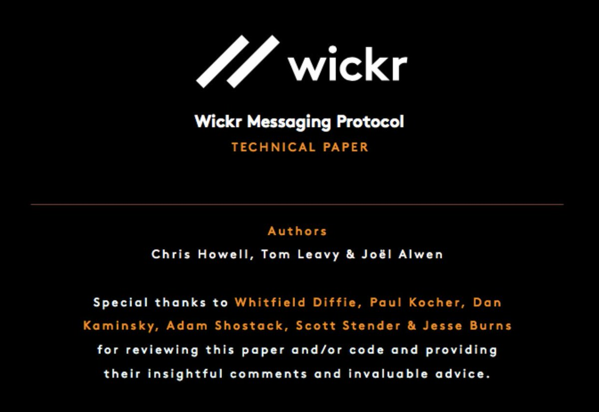 Wickr (@myWickr) | Twitter