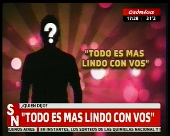 #SiempreNoticias | #QuienDijo  'Todo es más lindo con vos' https://t.c...