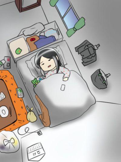 本来の起床時間の1時間前に目覚ましをセットすることで意図的に二度寝ができるシステムを開発した一人暮ら…
