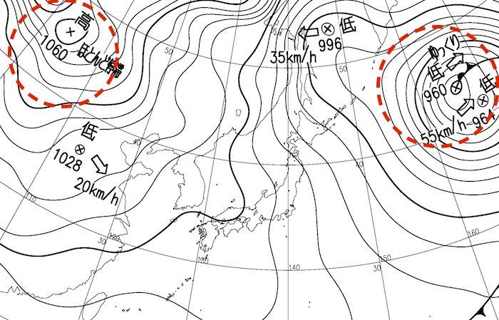 今日2月16日は天気図の日。気象情報会社としては放っておくわけにはいきません!…ということで、天気図…