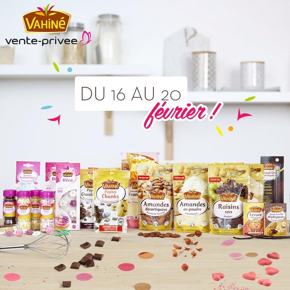 Chers gourmands, les produits Vahiné vous attendent sur  http:// bit.ly/1qBJAuI  &nbsp;   #venteprivée #vahiné<br>http://pic.twitter.com/EIEcmYrhgH