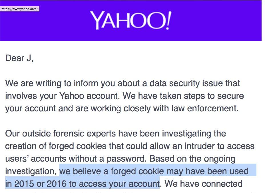 Cómo son las 'cookies falsificadas' responsables de las peores filtraciones de Yahoo